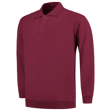 Polosweater met boord_