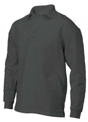 Polosweater zonder boord