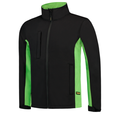 Softshell jas bi-color